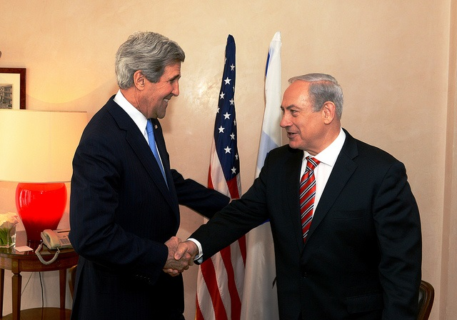 Secretary Kerry meets with Prime Minister Netanyahu| © US Department of State