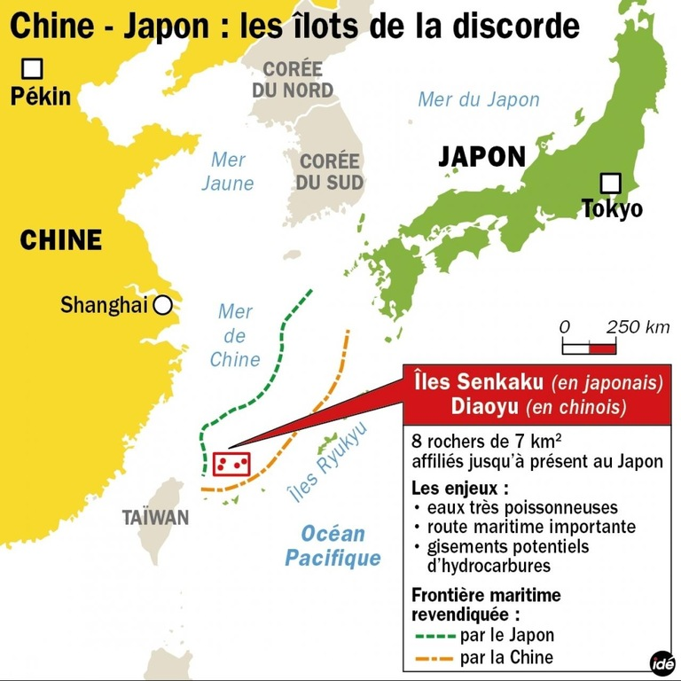 Cover: BCM sur la relation Chine/Japon