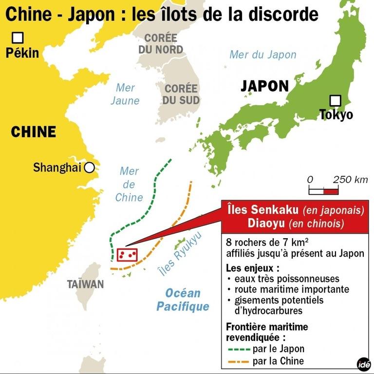 Cover: BCM sur la relation Chine/Japon