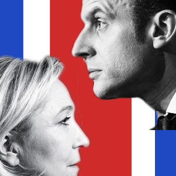 Cover: Macron vs. Le Pen: the French decide on Europe's future