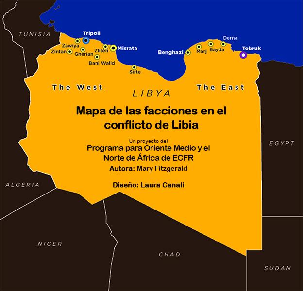 Mapas De Las Facciones En El Conflicto De Libia European Council