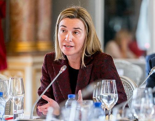 Федерика Могерини обсъди в София външната политика на ЕС