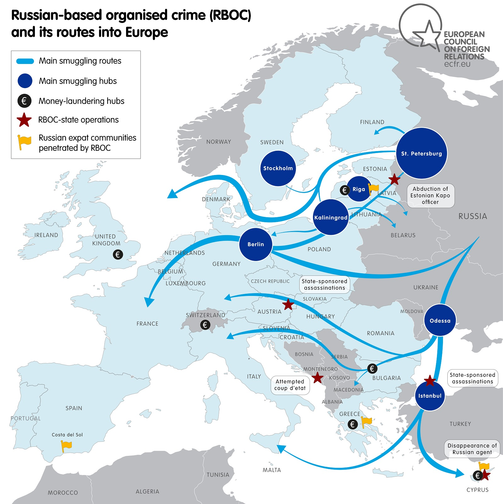 GTA grouping in the Moscow region: the scale of criminal activity