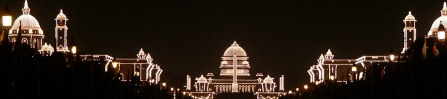 Rashtrapati Bhavan, the official residence of the president of India. From Flickr.com, User: kkoshy/