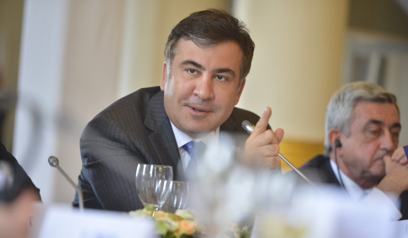 Saakashvili in Odessa – no half-measures this time