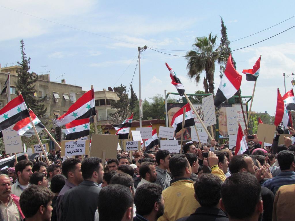 """Cover: Syrie : """"Les changements sur le terrain nous impose de considérer une solution politique"""""""