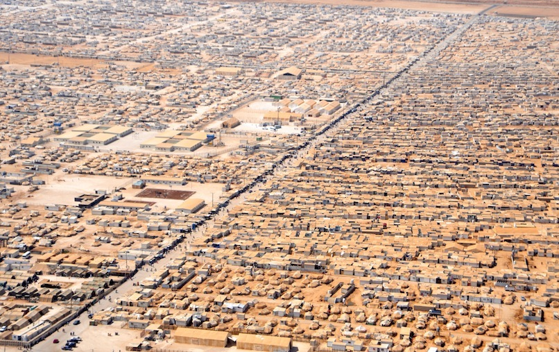 © Zaatari camp for Syrian refugees in Jordan, U.S. Department of State photo.