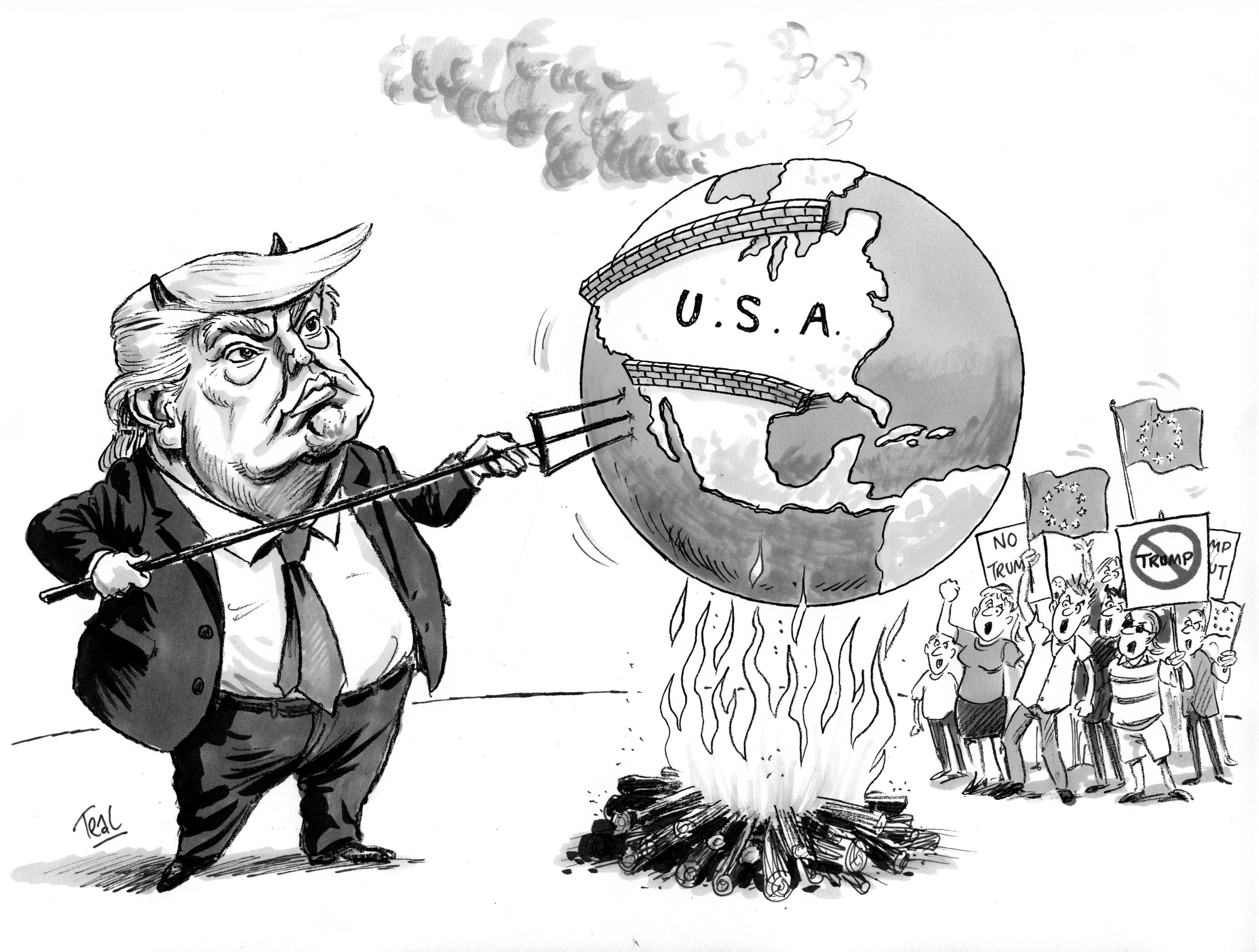the transatlantic meaning of donald trump a us eu power audit