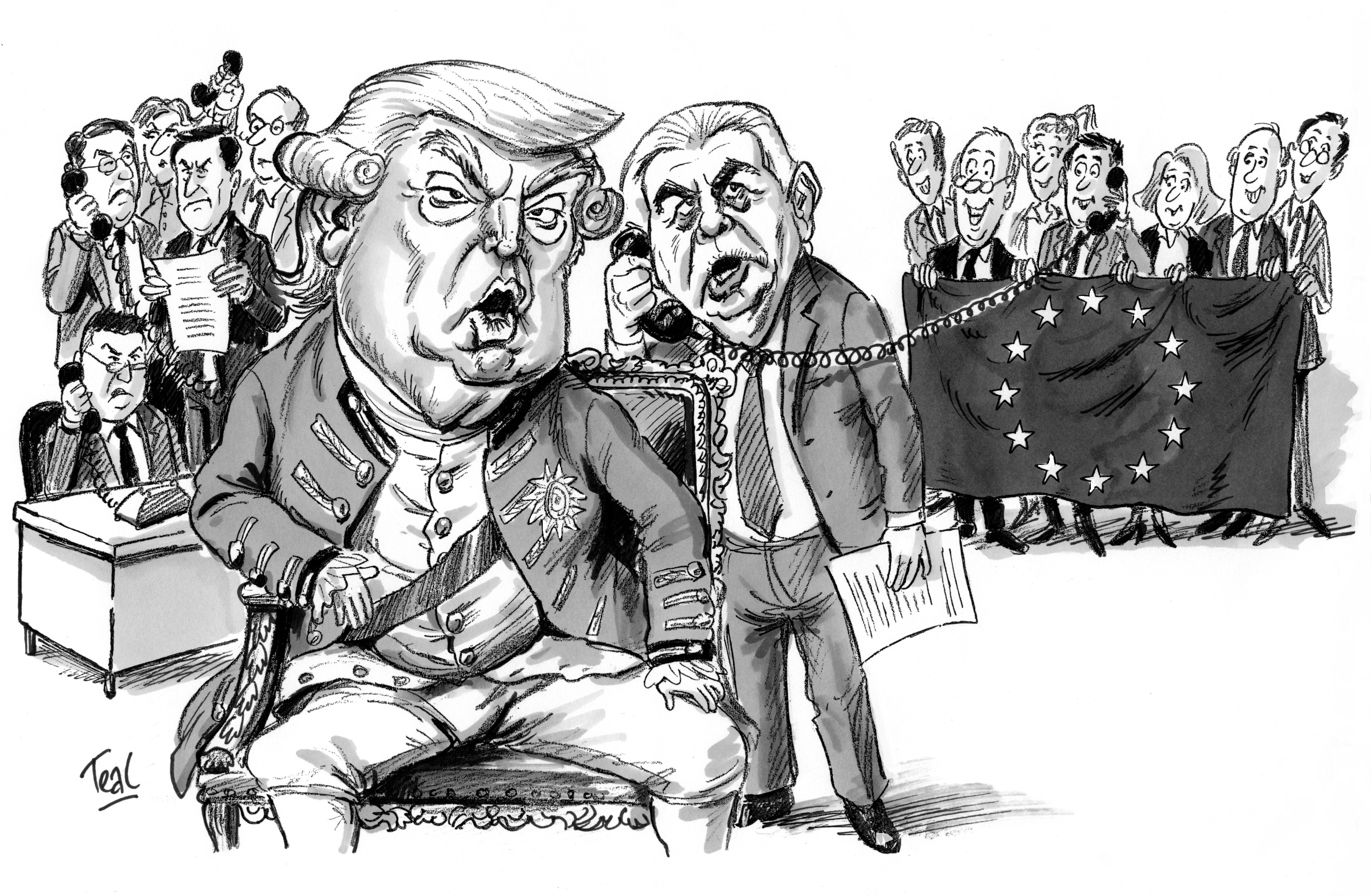 US-EU Power Audit: El significado transatlántico de Donald Trump