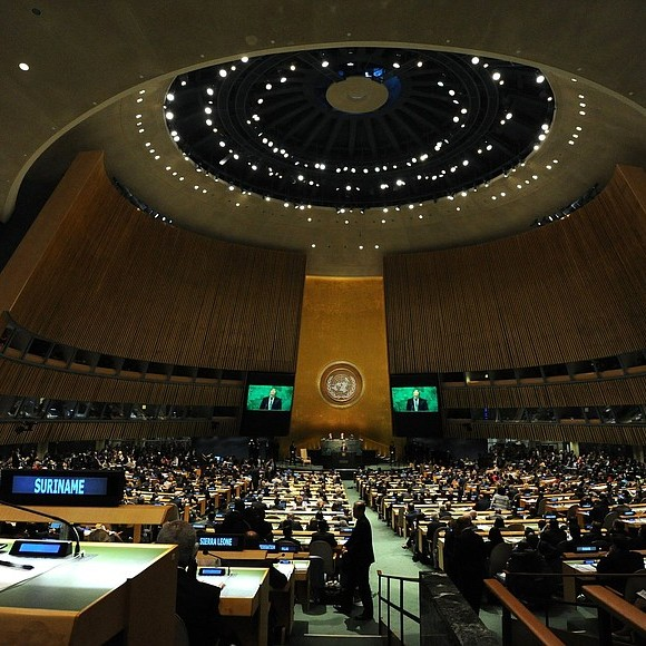 Cover: Debriefing the U.N. General Assembly with Richard Gowan