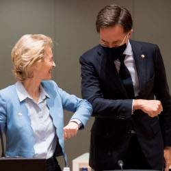 "Main image for ""The EU's budget and recovery fund deal – a historic moment for Europe?"" podcast"