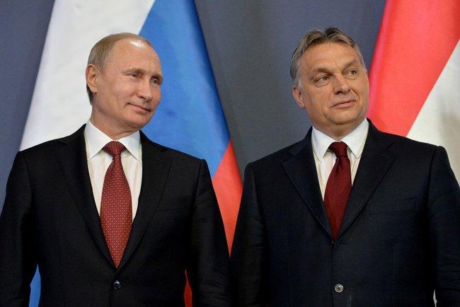 Europejscy przyjaciele Putina
