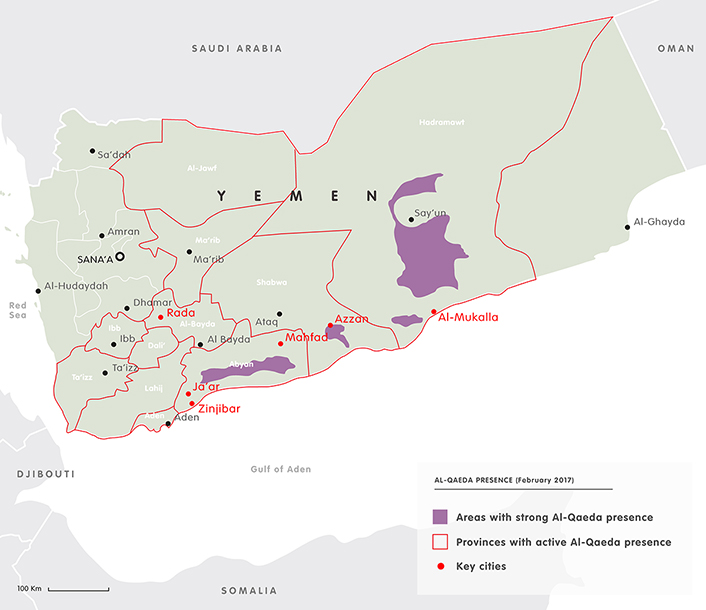 Mapping the yemen conflict european council on foreign relations al qaeda in yemen click to expand gumiabroncs Images