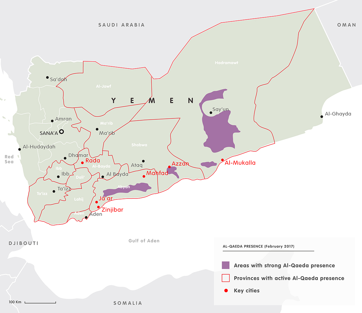 Mapping the Yemen conflict | European Council on Foreign Relations on