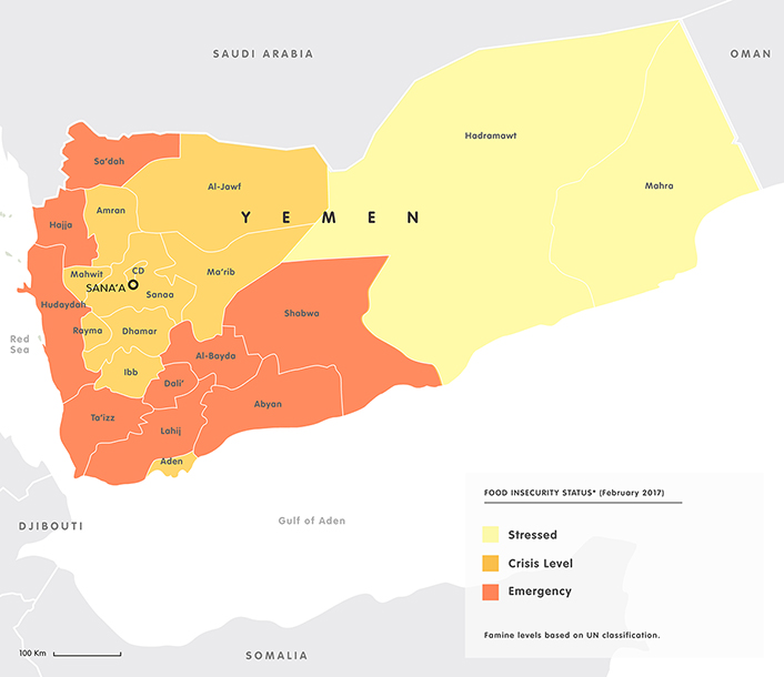 Food insecurity in Yemen