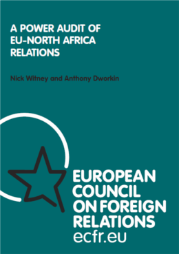 Cover: A Power Audit of EU - North Africa relations