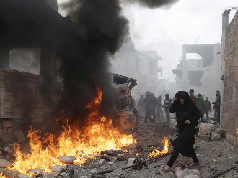 Aleppo under siege