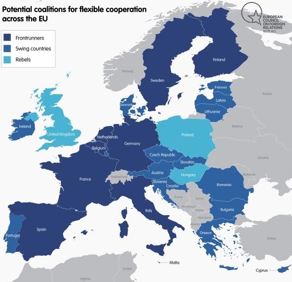 Karte Eu.Flash Scorecard Umfrage Bestätigt Eu Staaten Für Flexible
