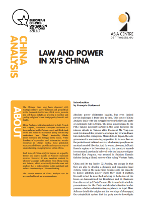 Cover: China Analysis: Chińska polityka sąsiedztwa