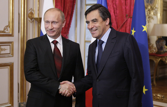 The bear in the room: François Fillon and the lurch towards Russia