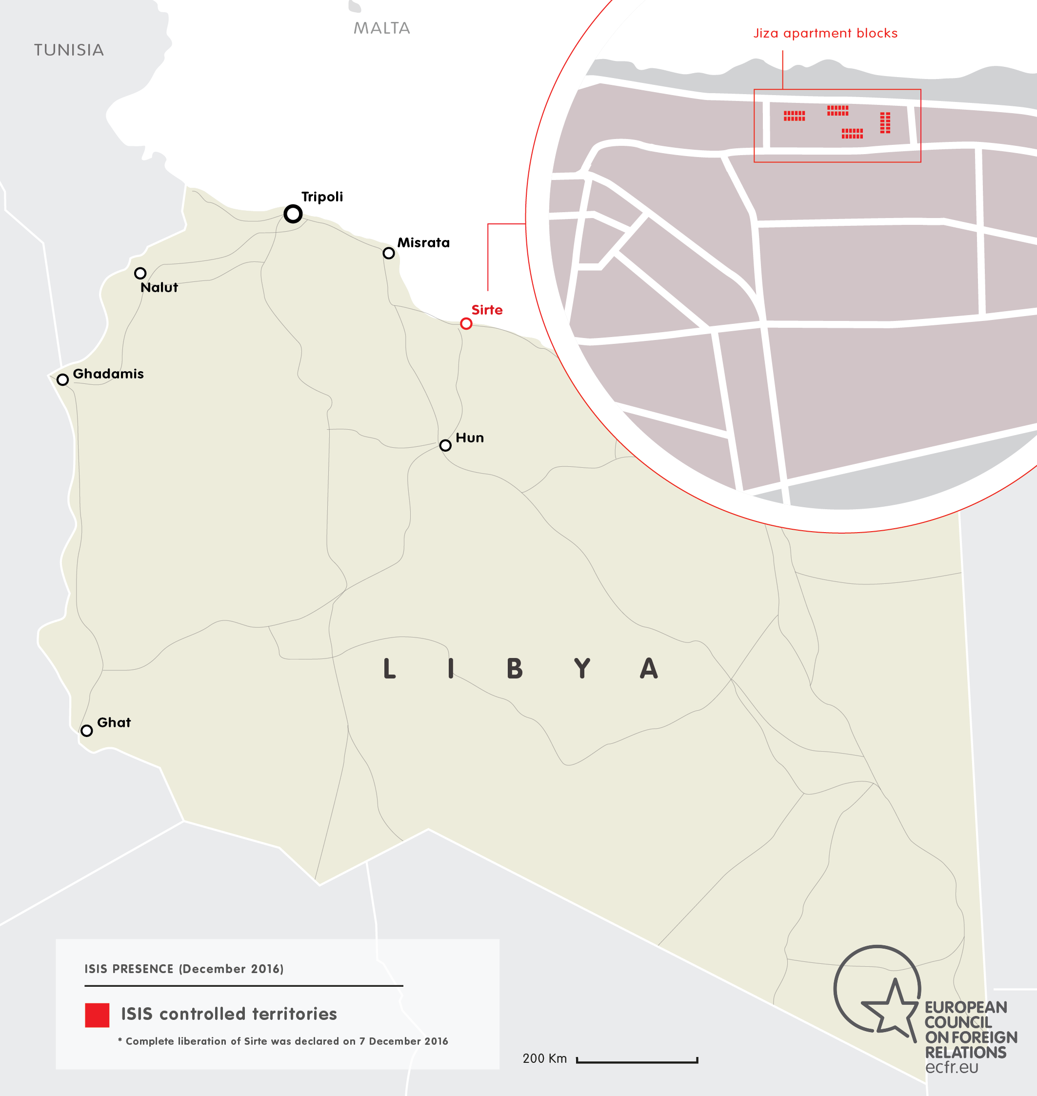ISIS EXPANSION IN LIBYA DECEMBER 2016