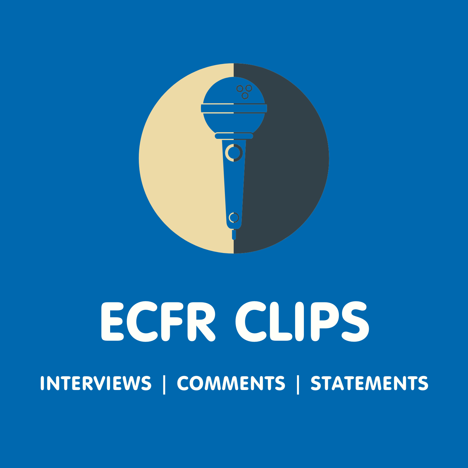 ECFR Clips' podcast cover