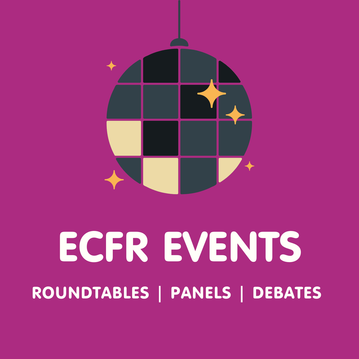ECFR events' podcast cover