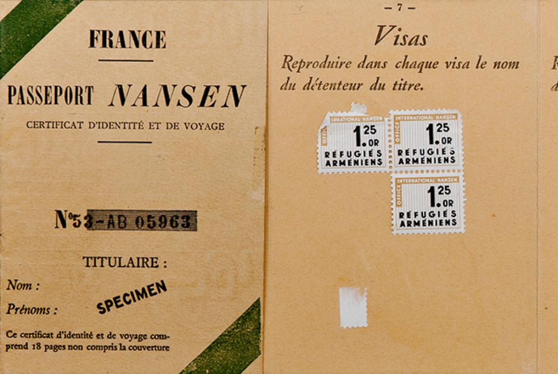 Paszport Nansena – zapomniana polityka uchodźcza?