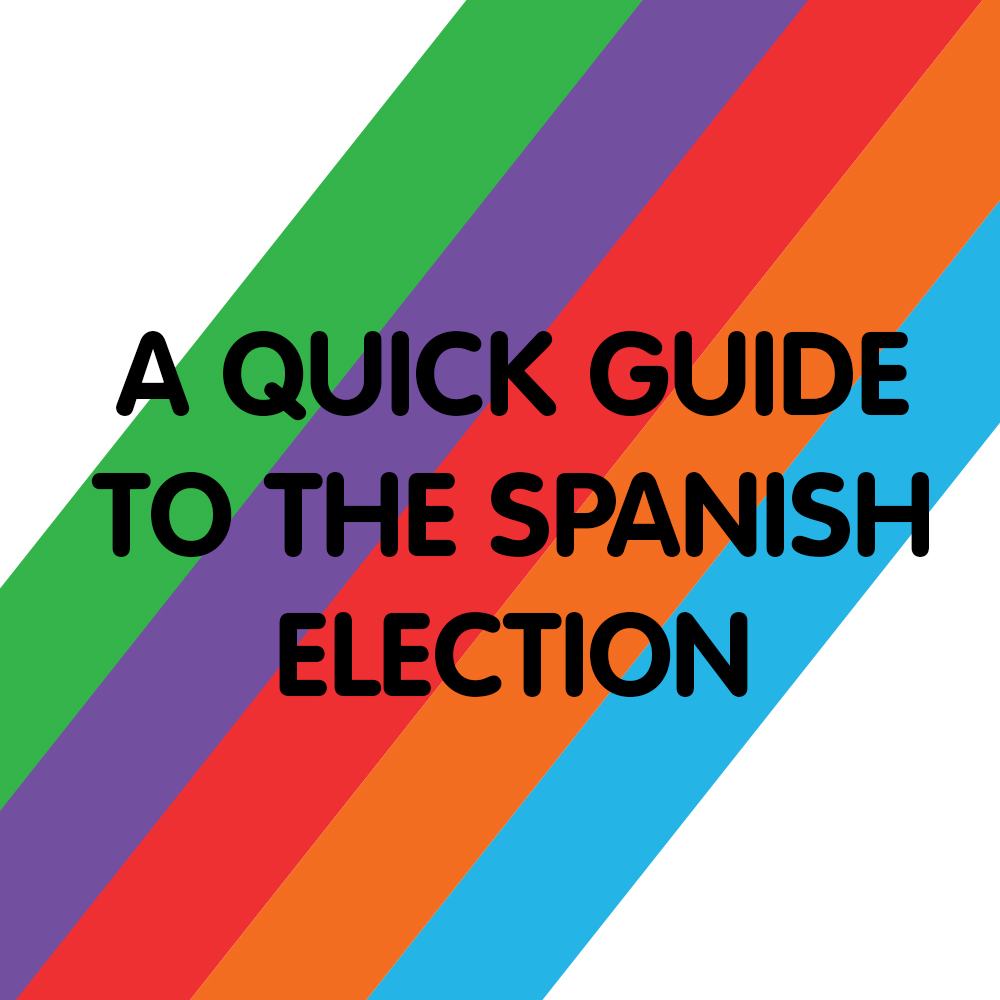 A quick guide to the Spanish General Election