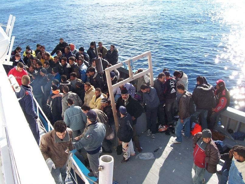 Immigrati a Lampedusa - Matteo Penna / Vito Manzari / Flickr