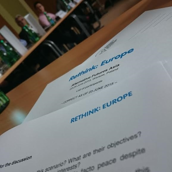 Strategy group on EU policy towards Asia
