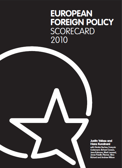 Cover: European Foreign Policy Scorecard 2010