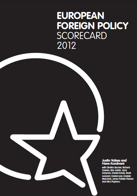 Cover: European Foreign Policy Scorecard 2012