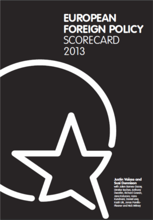 Cover: European Foreign Policy Scorecard 2013