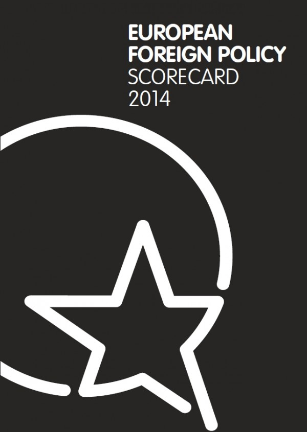 Cover: European Foreign Policy Scorecard 2014