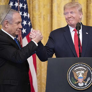 "Main image for ""Trump's ""Deal of the Century"" debunked: is there something in it for Palestine at all?"" podcast"