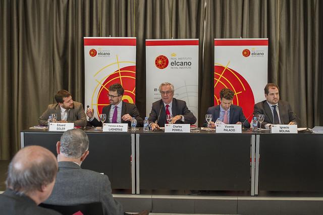 """Presentación de """"España en el mundo 2016: perspectivas y desafíos"""" y debate sobre la acción exterior española en el nuevo ciclo político"""