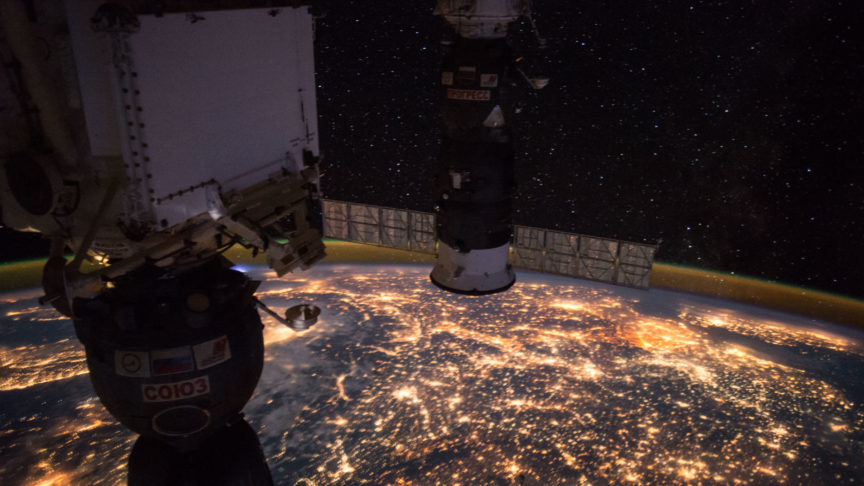 Western Europe as seen from space