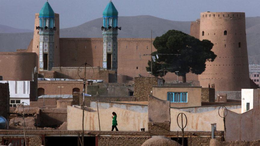 Minarets in Herat, Afghanistan