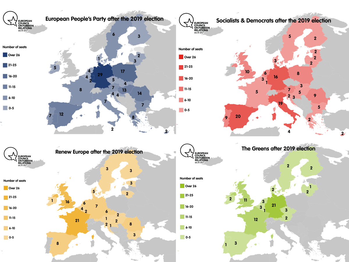 European parties after the 2019 election