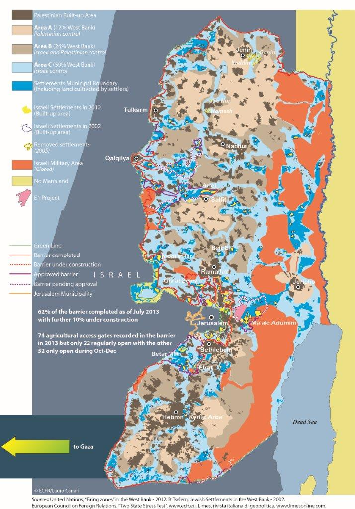 Image of: Occupied Palestinian Territory Opt European Council On Foreign Relations